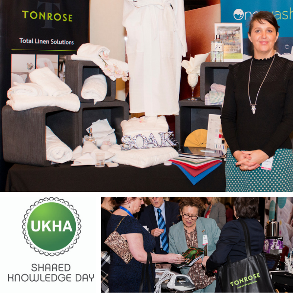 Tonrose exhibts at the UKHA Shared Knowledge Day