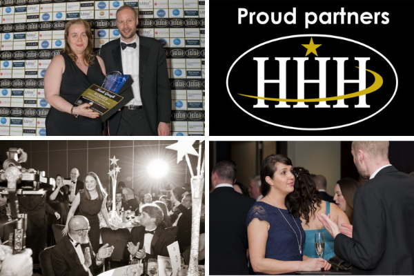 Proud partners of the HHH Awards
